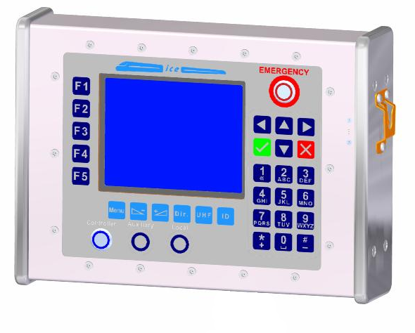 Console Mounted HMI for easier retrofit to existing locomotives